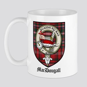 MacDougall Clan Crest Tartan Mug
