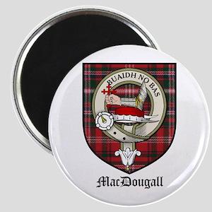 """MacDougall Clan Crest Tartan 2.25"""" Magnet (10 pack"""