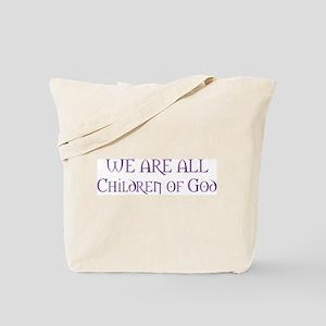 Children of God Tote Bag