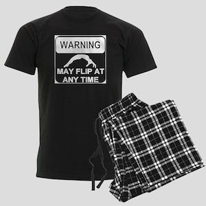 Warning may Flip gymnastics Pajamas