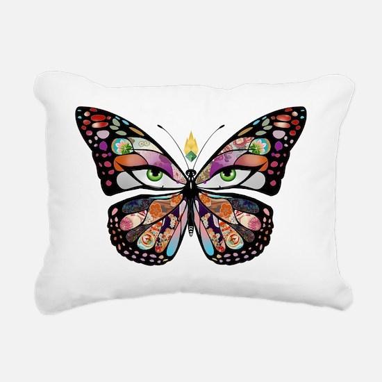 butterpng Rectangular Canvas Pillow