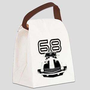 Camaro 1968 copy Canvas Lunch Bag