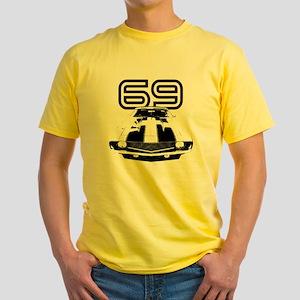 Camaro 1969 copy Yellow T-Shirt