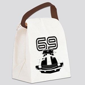 Camaro 1969 copy Canvas Lunch Bag