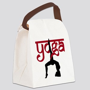 YO-91-009-BL-TS Canvas Lunch Bag