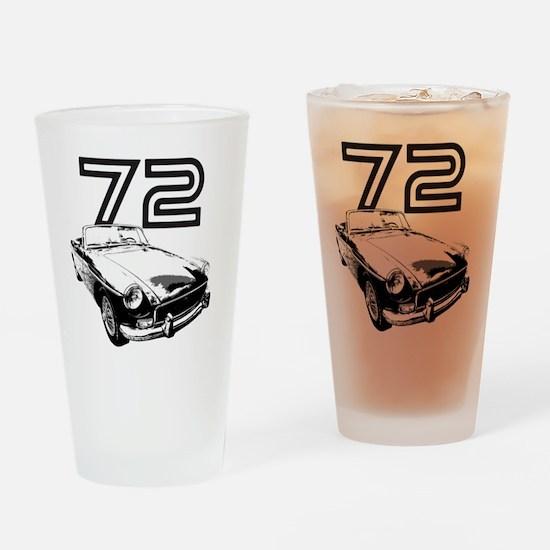 MG 1972 copy Drinking Glass