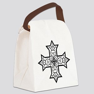 copticcrossb Canvas Lunch Bag
