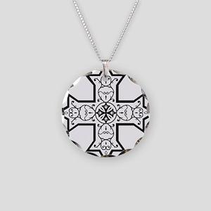 copticcrossb Necklace Circle Charm