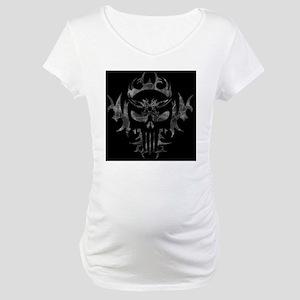 Punisher SkullBkBg_edited-2 Maternity T-Shirt