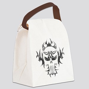 Punisher Skull Canvas Lunch Bag