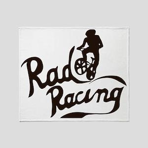 Rad Racing Throw Blanket