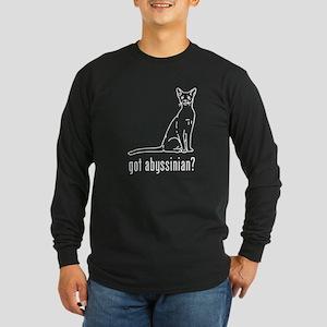 Abyssinian Long Sleeve Dark T-Shirt