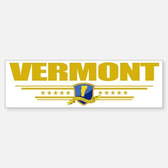 Vermont (Flag 10) pocket Sticker (Bumper)