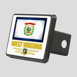 West Virginia (Flag 10) Rectangular Hitch Cover
