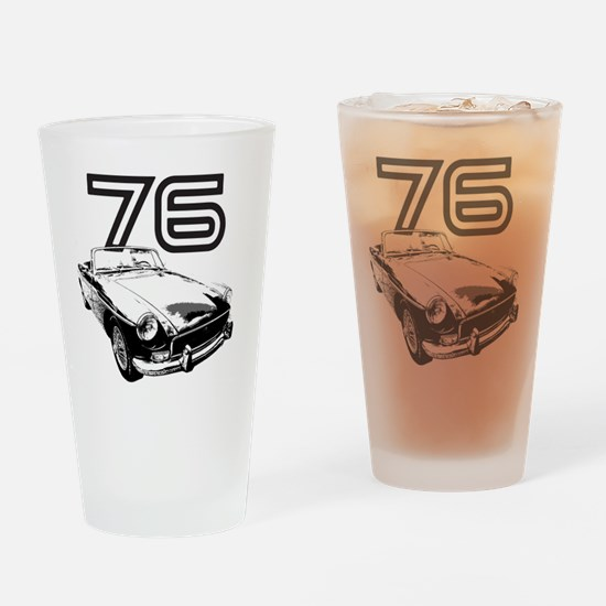 MG 1976 copy Drinking Glass