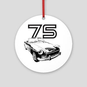 MG 1975 copy Round Ornament
