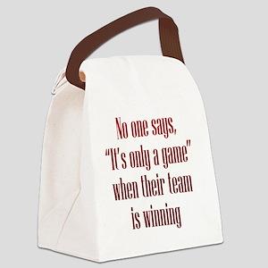 winning_tall1 Canvas Lunch Bag
