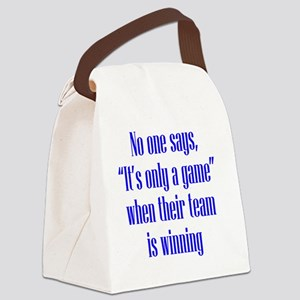 winning_tall2 Canvas Lunch Bag
