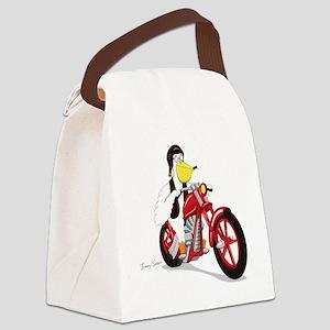 pelican Canvas Lunch Bag