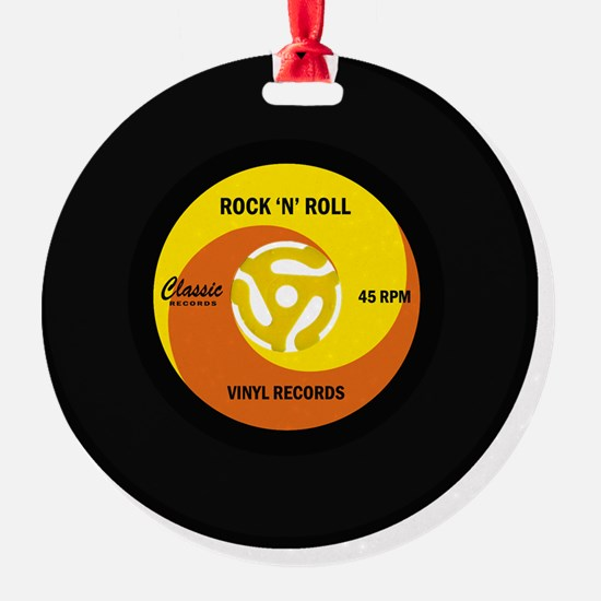 rocknrollrecord Ornament