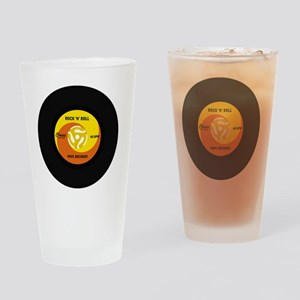 rocknrollrecord Drinking Glass