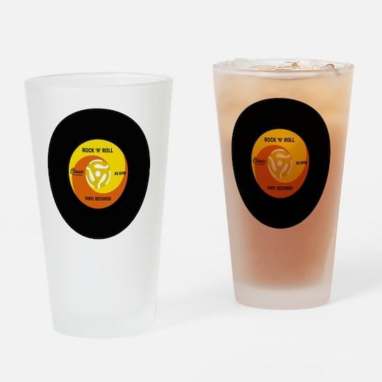 rocknrollrecord Drinking Glass
