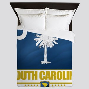 South Carolina (Flag 10) Queen Duvet