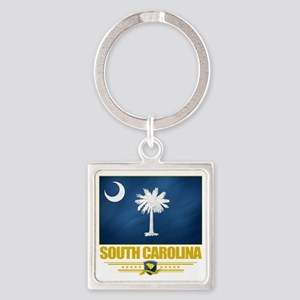 South Carolina (Flag 10) Square Keychain