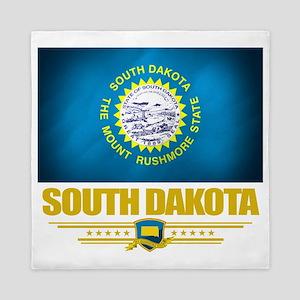 South Dakota (Flag 10) Queen Duvet