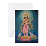 Lakshmi Greeting Cards (Pk of 10)