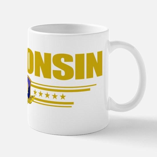 Wisconsin (Flag 10) pocket Mug