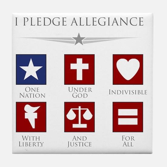 flag Tile Coaster