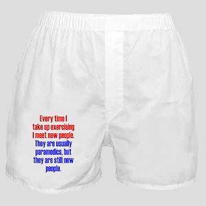 exercising_tall1 Boxer Shorts