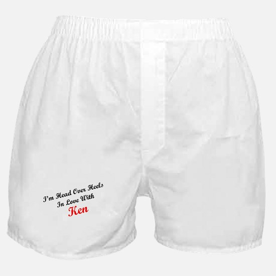 In Love with Ken Boxer Shorts
