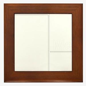 You Me bracket-2 Framed Tile
