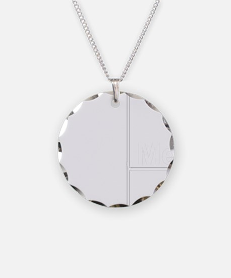 You Me bracket-2 Necklace Circle Charm