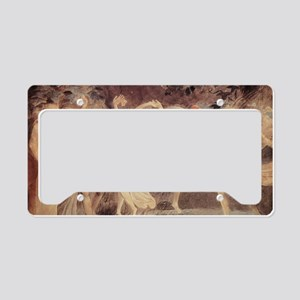 Oberon, Titania, Puck with Fa License Plate Holder