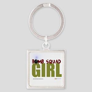 BSG Womens T-shirt Style 2 Square Keychain