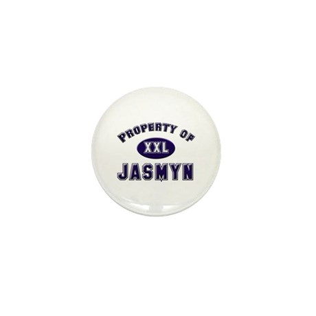 Property of jasmyn Mini Button