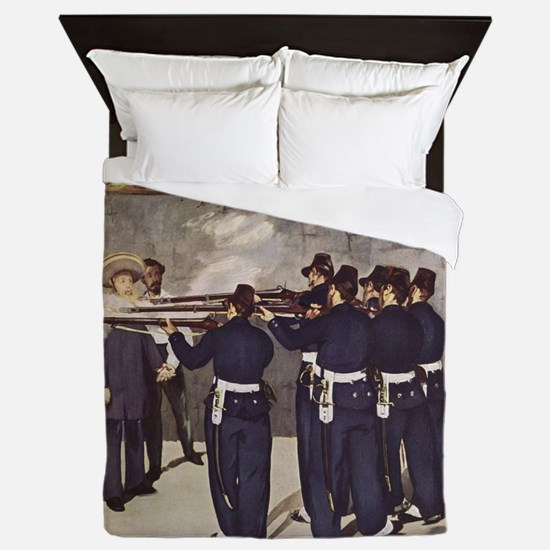 Execution of Emperor Maximillian Queen Duvet
