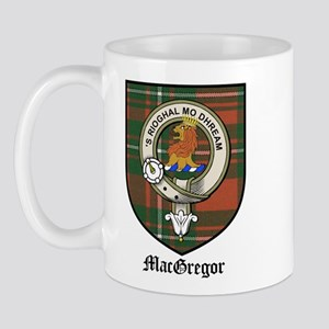 MacGregor Clan Crest Tartan Mug