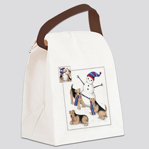 snowmandales.img005 Canvas Lunch Bag