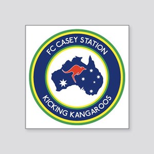 "FC-Casey-Station-Australia- Square Sticker 3"" x 3"""