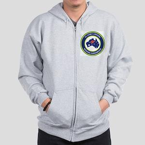 FC-Casey-Station-Australia-shield Zip Hoodie