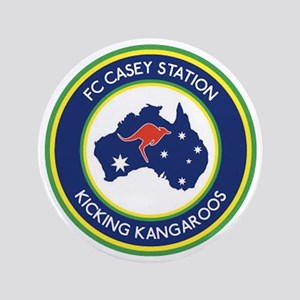 "FC-Casey-Station-Australia-shield 3.5"" Button"
