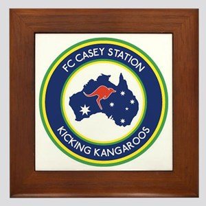 FC-Casey-Station-Australia-shield Framed Tile