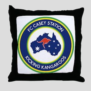 FC-Casey-Station-Australia-shield Throw Pillow