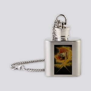 Ancient of Days Flask Necklace