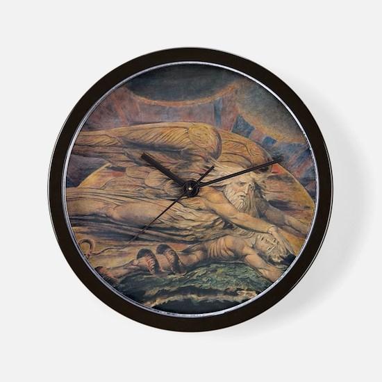 Elohim Creating Adam Wall Clock