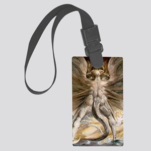 The Great Red Dragon Large Luggage Tag